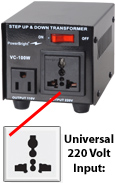 Universal / European 220 Volt Outlet ( socket )